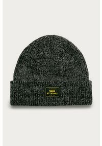 Czarna czapka Vans melanż
