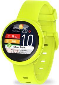 MYKRONOZ - Smartwatch MyKronoz ZeRound 3 Lite Żółty (001907210000). Rodzaj zegarka: smartwatch. Kolor: żółty