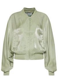 Guess Kurtka bomber W1GL97 WCUA2 Zielony Relaxed Fit. Kolor: zielony #5