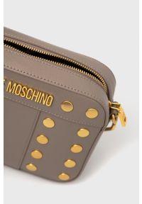 Love Moschino - Torebka. Kolor: beżowy