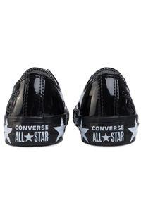 Czarne półbuty Converse z cholewką, na co dzień
