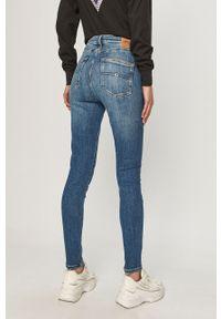 Niebieskie jeansy Tommy Jeans z podwyższonym stanem #5