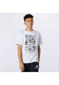 T-shirt New Balance z krótkim rękawem, krótki, na co dzień, vintage