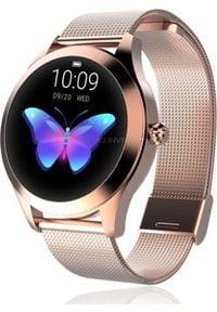 Smartwatch KingWear KW10 Różowe złoto. Rodzaj zegarka: smartwatch. Kolor: złoty, różowy, wielokolorowy