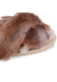 Brązowe kapcie EMU Australia