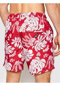Superdry Szorty kąpielowe Campus Hawaiian M3010120A Czerwony Regular Fit. Kolor: czerwony #3