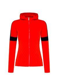 Fusalp - Sweter FUSALP FRANCINE. Materiał: włókno, syntetyk, wiskoza. Wzór: ze splotem. Styl: sportowy