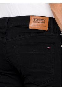 Tommy Jeans Jeansy DM0DM04372 Czarny Slim Fit. Kolor: czarny. Materiał: elastan, bawełna