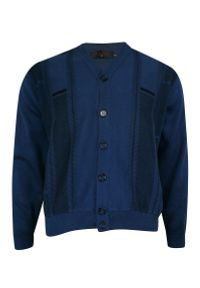 Niebieski sweter Kings na co dzień, elegancki