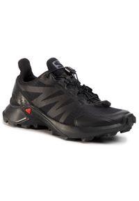 Czarne buty do biegania salomon