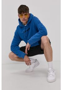 Levi's® - Levi's - Bluza bawełniana. Okazja: na spotkanie biznesowe, na co dzień. Kolor: niebieski. Materiał: bawełna. Wzór: nadruk. Styl: casual, biznesowy