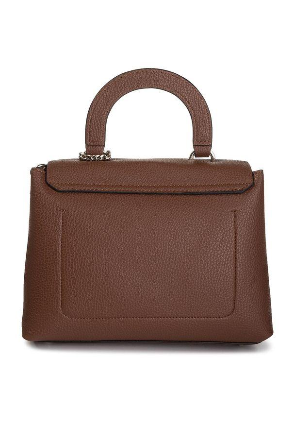 Brązowa torebka klasyczna Guess klasyczna