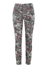 Szare spodnie Cellbes w kwiaty