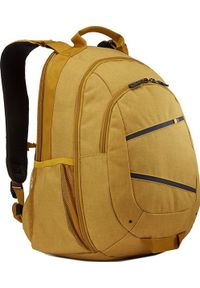 Żółty plecak na laptopa CASE LOGIC