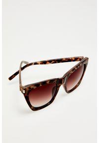 Okulary przeciwsłoneczne MOODO prostokątne, z motywem zwierzęcym