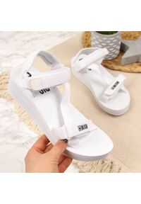 Białe sandały Big-Star sportowe