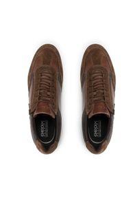 Geox Sneakersy U Adrien C U157VC 0CL22 C6N6G Brązowy. Kolor: brązowy