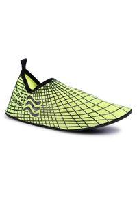 Żółte buty sportowe ProWater z cholewką, żeglarskie