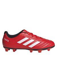 Adidas - Buty piłkarskie korki dla dzieci adidas Copa 20.4 FG EF1919. Okazja: na imprezę. Materiał: syntetyk, skóra. Szerokość cholewki: normalna. Sezon: lato. Sport: piłka nożna