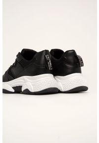 Czarne buty sportowe Answear Lab na średnim obcasie, z okrągłym noskiem