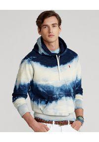 Ralph Lauren - RALPH LAUREN - Bluza z kapturem Indigo Tie-Dye. Typ kołnierza: kaptur. Kolor: niebieski. Materiał: tkanina, bawełna. Wzór: haft. Styl: klasyczny