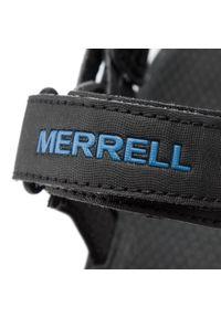 Czarne sandały trekkingowe Merrell na lato