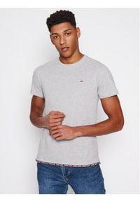Tommy Jeans T-Shirt DM0DM10284 Szary Regular Fit. Kolor: szary