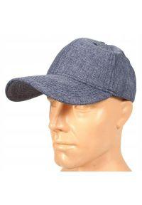Niebieska czapka Pako Jeans melanż, na lato