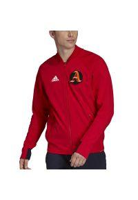 Adidas - ADIDAS VRCT JACKET > FI4681. Materiał: nylon. Wzór: aplikacja. Styl: klasyczny, sportowy