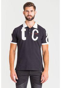 Koszulka polo Just Cavalli polo, w kolorowe wzory