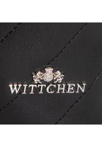 Czarna torebka worek Wittchen na ramię