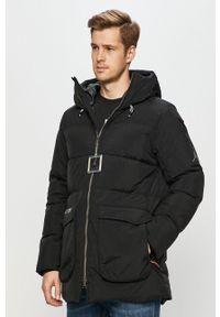 Czarna kurtka Jordan z kapturem