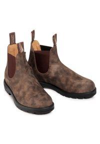 Brązowe buty zimowe Blundstone na co dzień, z cholewką #6