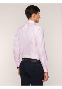 Różowa koszula biznesowa Emanuel Berg