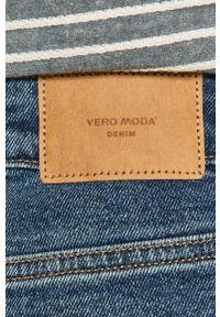 Niebieskie szorty Vero Moda na co dzień, casualowe