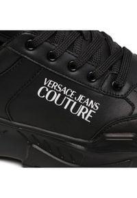 Versace Jeans Couture Sneakersy E0YWASC1 Czarny. Kolor: czarny