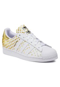 Białe buty sportowe Adidas z cholewką, Adidas Superstar, na co dzień