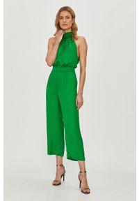 Zielony kombinezon Pinko klasyczny, długi, bez rękawów