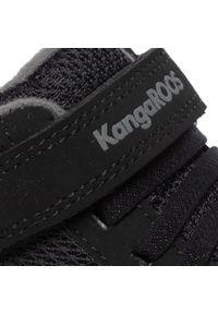 Czarne półbuty KangaRoos z cholewką