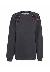 Szara bluza Markus Lupfer w kwiaty