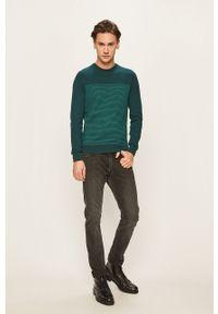 Zielony sweter Tom Tailor Denim na co dzień, casualowy