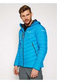 Niebieska kurtka zimowa Salewa