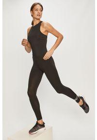 Czarne legginsy Puma gładkie