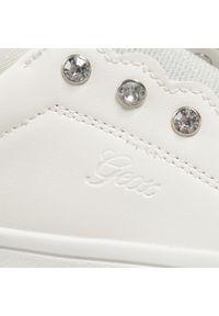 Geox - Sneakersy GEOX - J Djrock G. A J154MA 000BC C1000 S White. Okazja: na uczelnię, na spacer. Zapięcie: bez zapięcia. Kolor: biały. Materiał: skóra #3