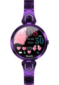 Fioletowy zegarek WATCHMARK smartwatch