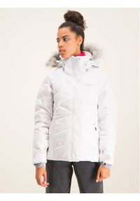 Biała kurtka sportowa columbia narciarska