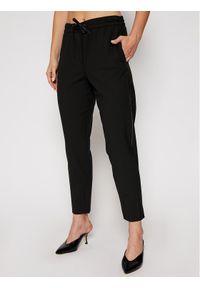 Czarne spodnie materiałowe Marella
