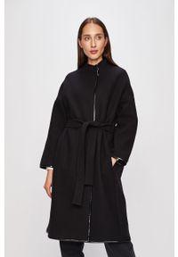 Czarny płaszcz Pinko bez kaptura