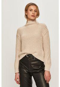 Sweter Marc O'Polo na co dzień, casualowy, polo, długi