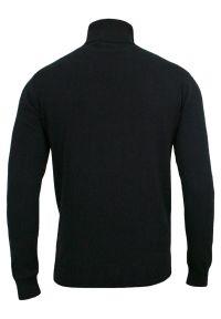 Niebieski sweter Brave Soul na zimę, z golfem, klasyczny